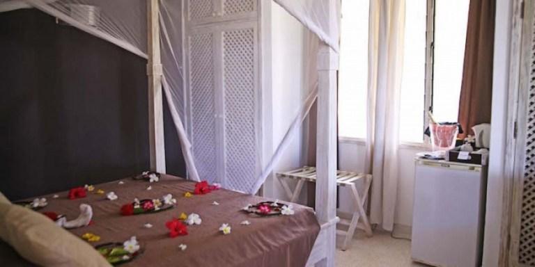 A room at Kola Beach Resort.