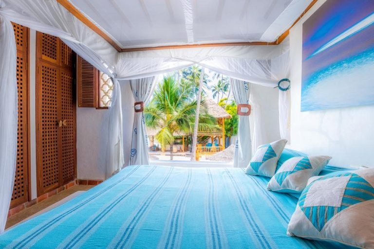A room at Water Lovers Beach Resort.