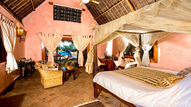 A room at The Sands at Chale.