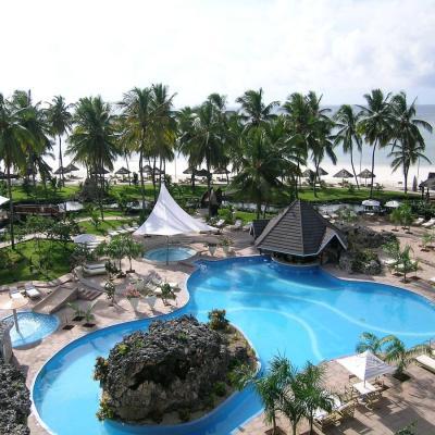 Diani Reef Beach Resort & Spa aerial view