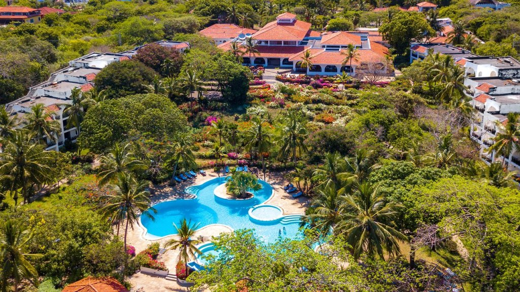 Aerial view of Diani Sea Resort
