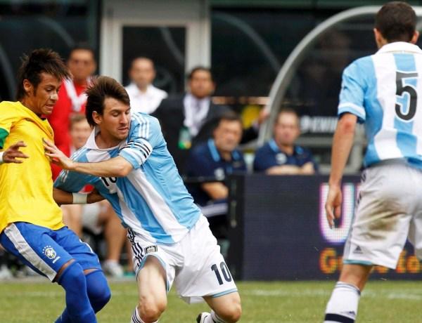 L'incroyable but de Messi face a l'Argentine