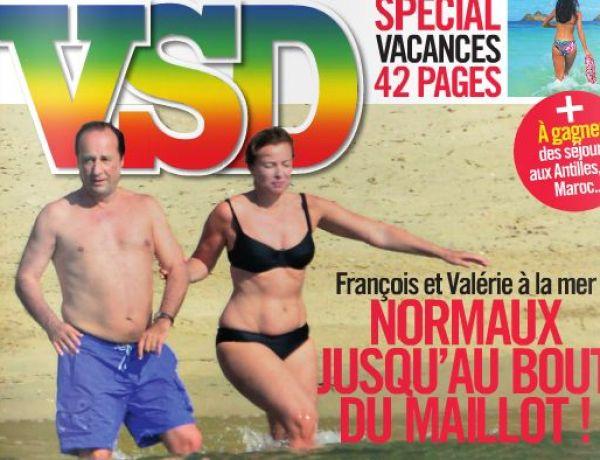 François Hollande et Valérie Trierweiler, normaux jusqu'au bout du maillot