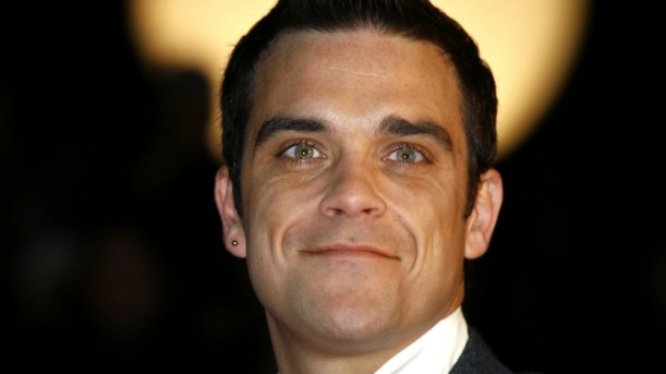 Robbie Williams : Une petite fille en route