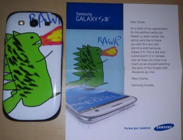 Galaxy S3 : «Bon, Samsung Canada m'a bien eu !»