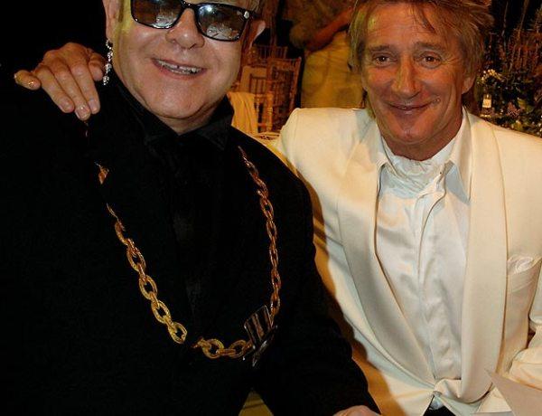 Rod Steward : Elton John son ami de toujours