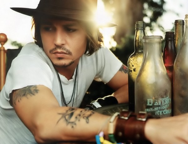 Johnny Depp : Amoureux des lettres ?