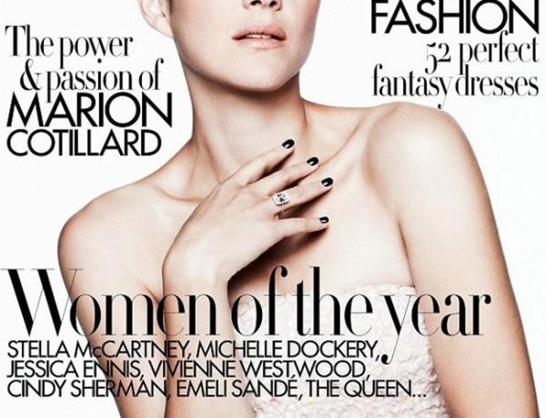 Marion Cotillard: Récompensée outre-manche