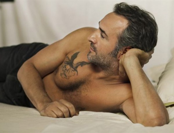 Jean Dujardin bad boy tatoué dans son prochain film !