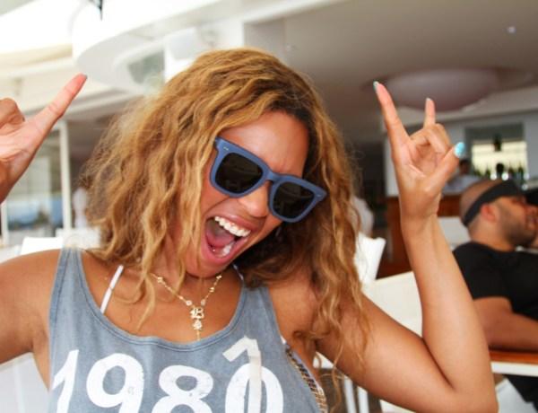 Beyonce  sans photoshop