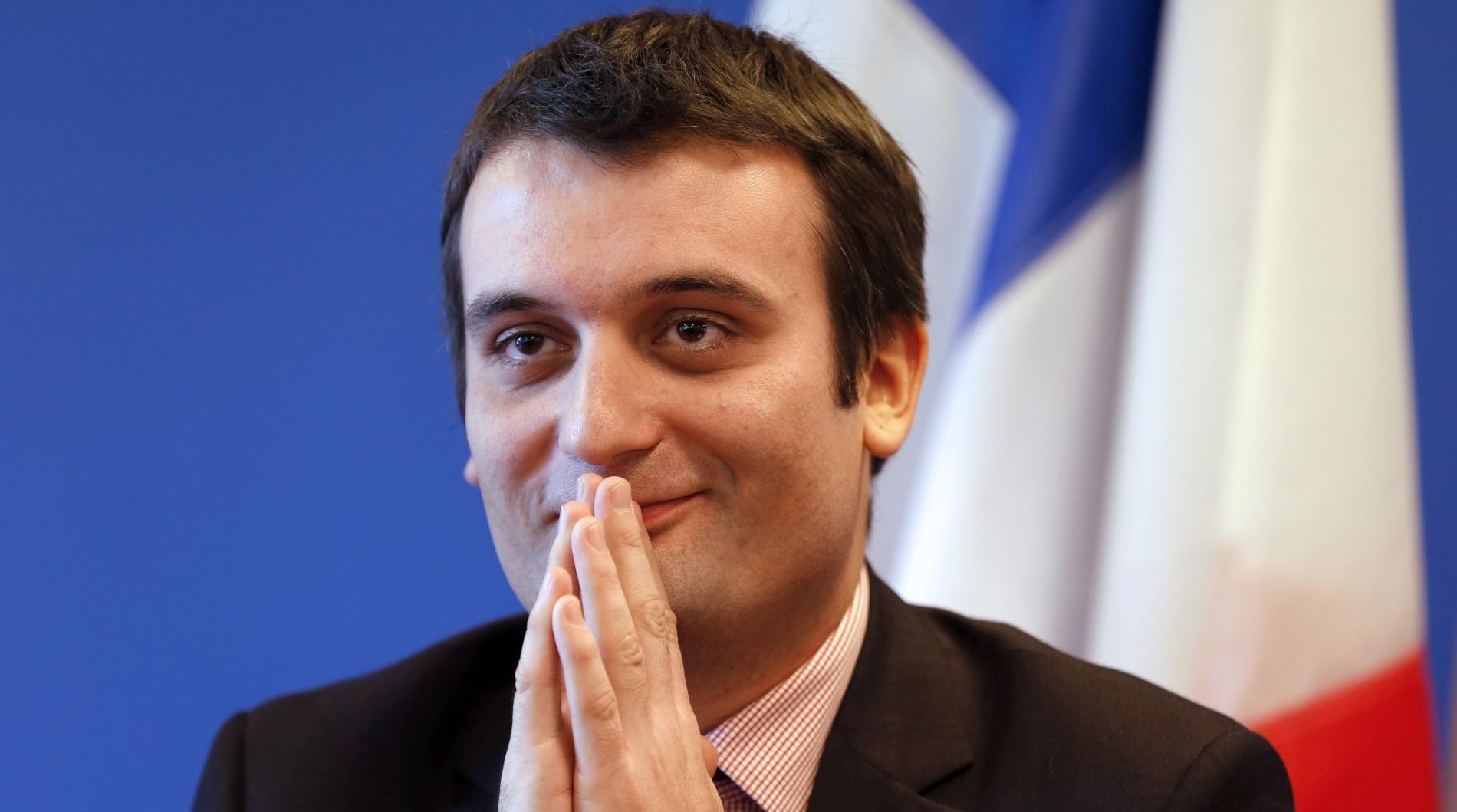 Florian Philippot @France TV