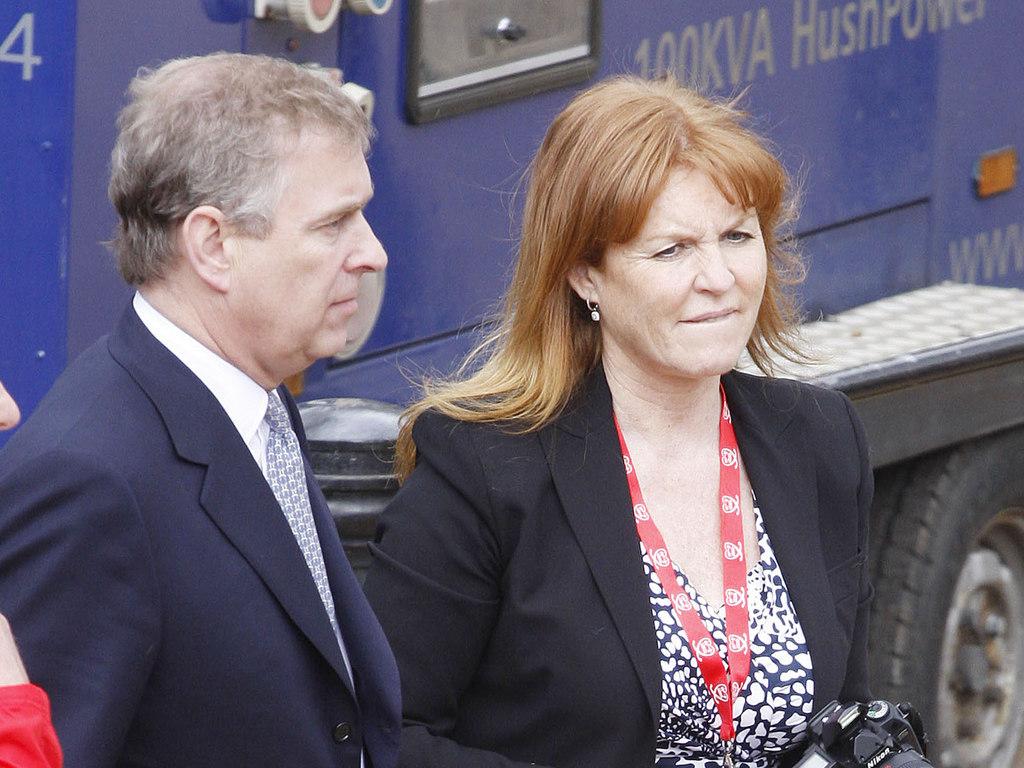 Le prince Andrewet Sarah Ferguson @Reuters