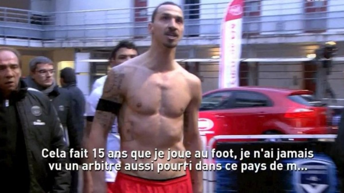 Zlatan Ibrahimovic : La grosse sanction après avoir insulté la France