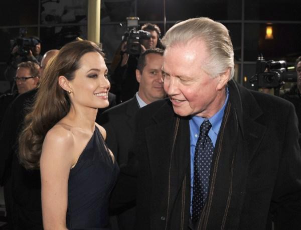 Jon Voight espère qu'Angelina Jolie et Brad Pitt vont annuler leur divorce…