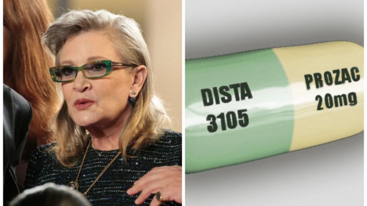 Pourquoi les cendres de Carrie Fisher reposent dans… une pilule géante de prozac ?
