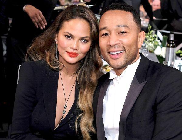 Chrissy Teigen : La femme de John Legend dévoile la première photo de leur fils !