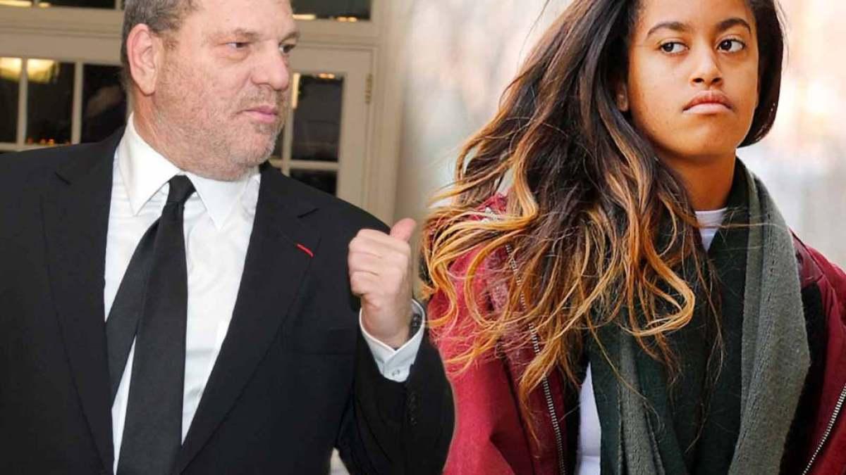 Pourquoi Harvey Weinstein doit de l'argent à Malia Obama