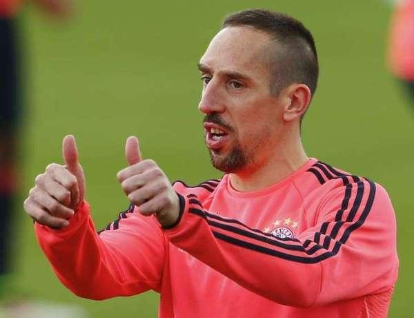 Franck Ribéry dévoile des abdos en bétons sur Instagram