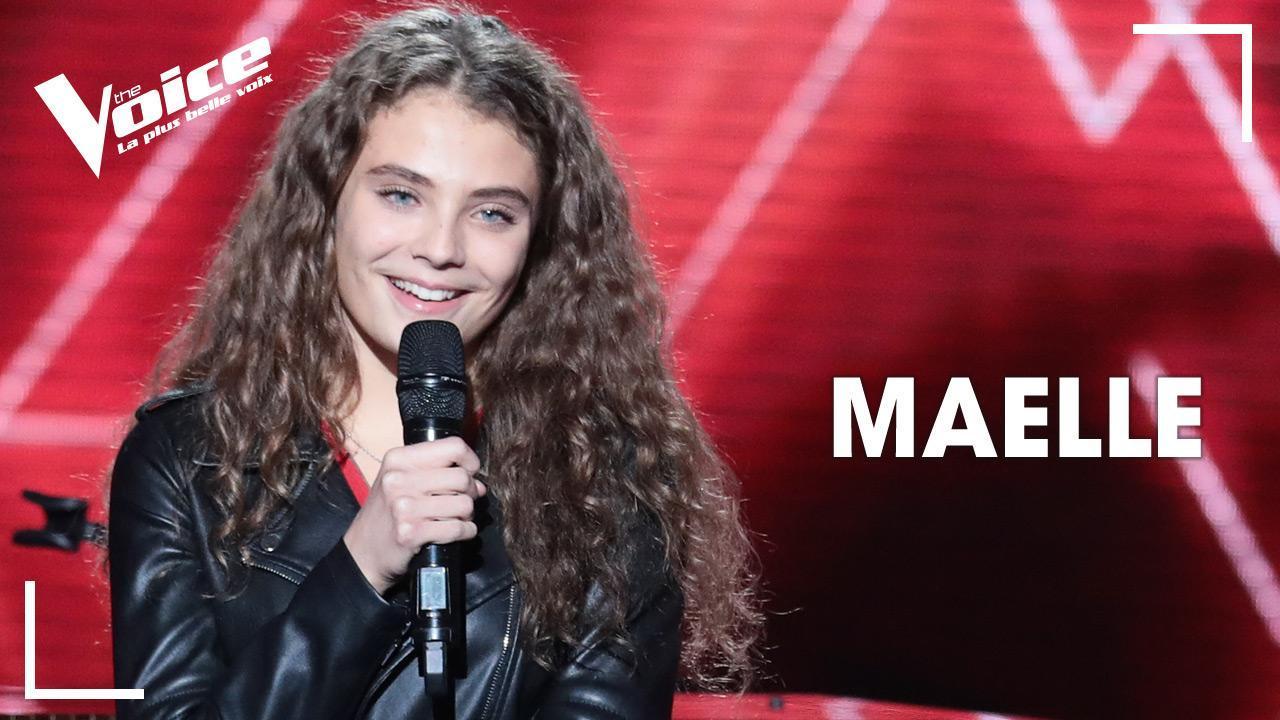 La septième saison de The Voice, la plus belle voix Maëlle