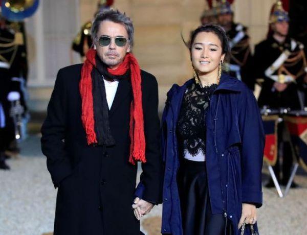 Jean-Michel Jarre et Gong Li officialisent leur relation… à l'Elysée !