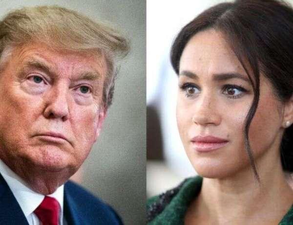 Meghan Markle : Donald Trump lui envoie un message personnel en pleine interview