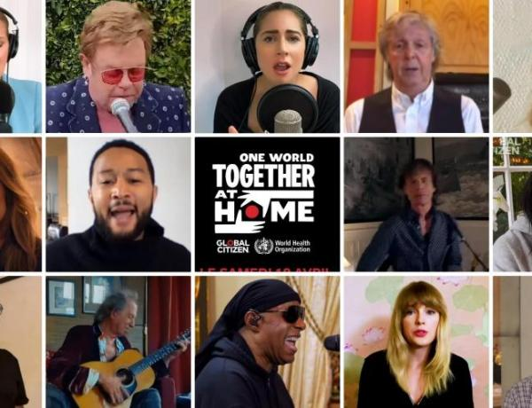 One World : Together At Home : Lady Gaga, Sam Smith, John Legend, Angèle… Les meilleurs lives