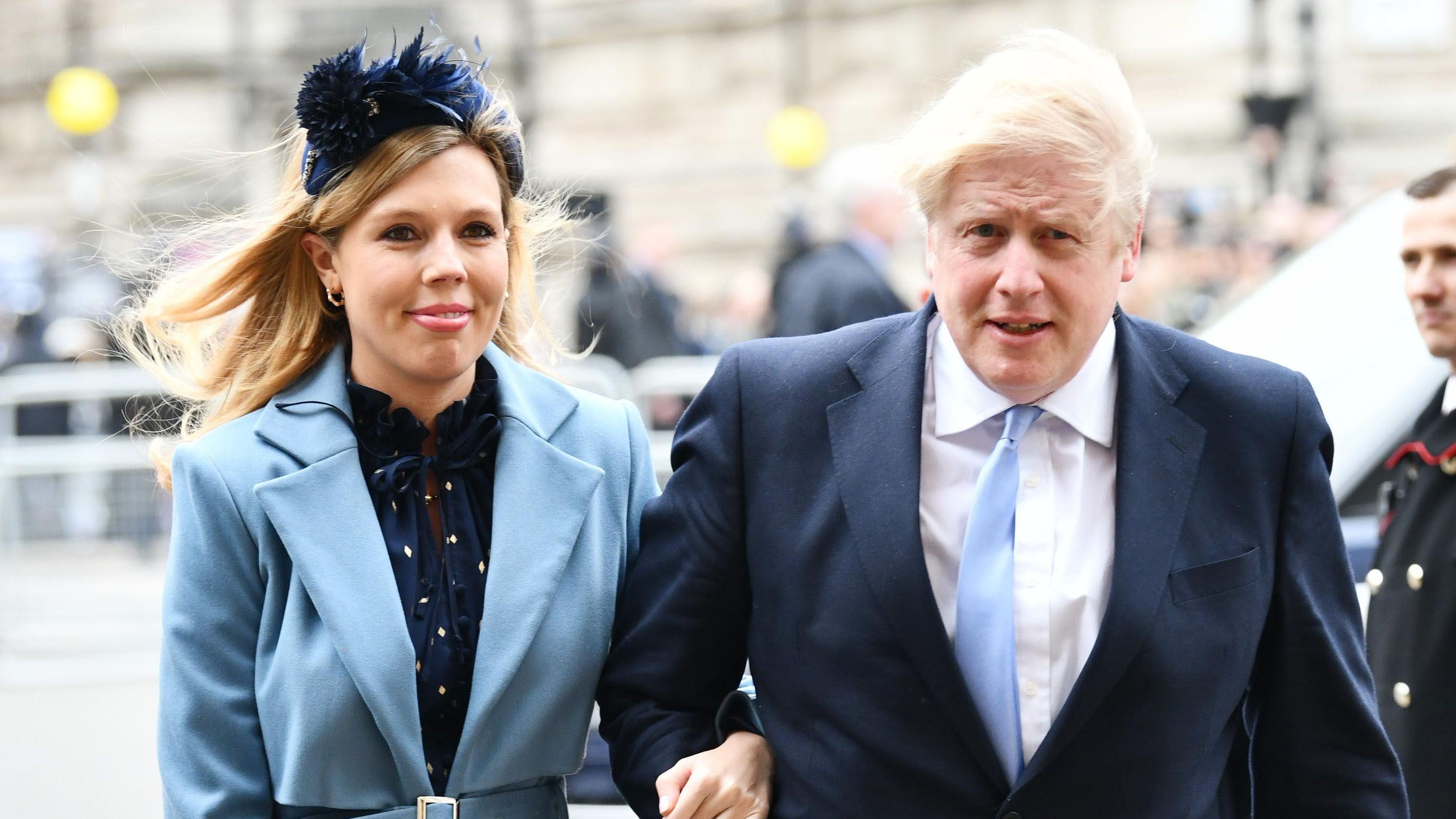 Boris Johnson et sa compagne, Carrie Symonds @Reuters