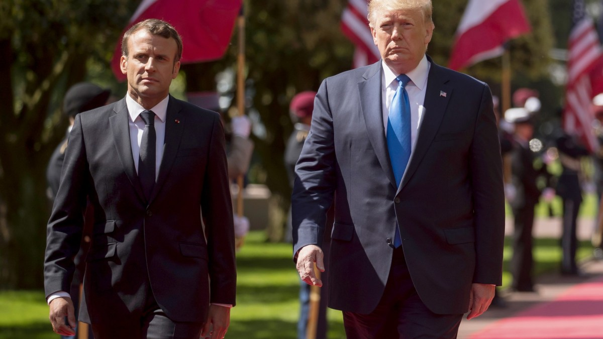 Emmanuel Macron : Cette habitude qui fait enrager Donald Trump