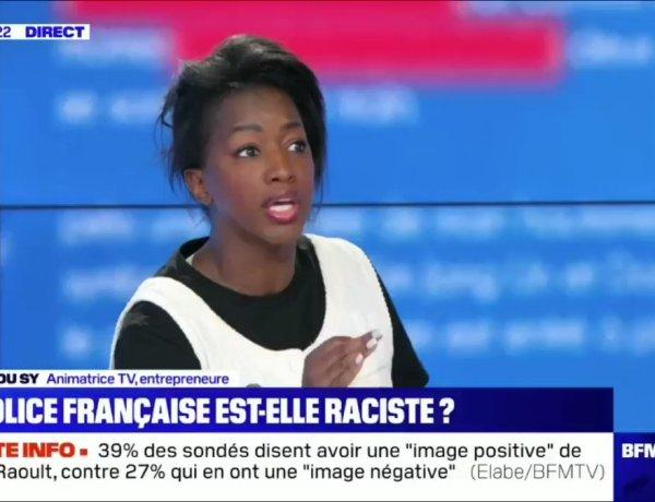 Hapsatou Sy : Violences policières et racisme, son discours sur BFMTV encensé sur la Toile