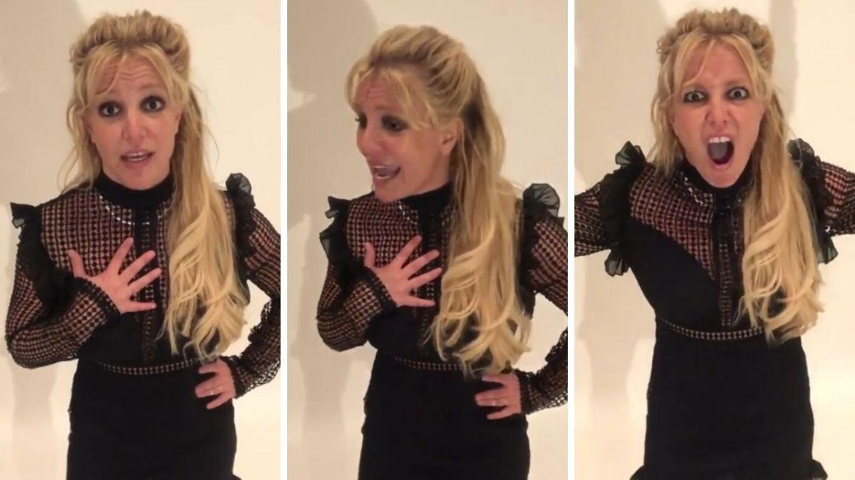 Mais que se passe-t-il avec Britney Spears ? Sa nouvelle vidéo embarrassante
