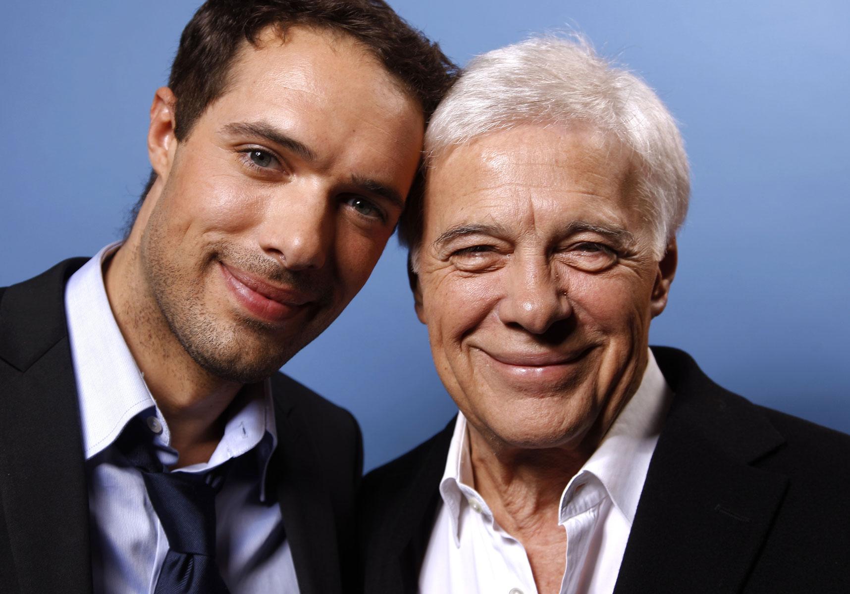 Nicolas Bedos et son père, Guy Bedos, disparu en 2020 @Instagram