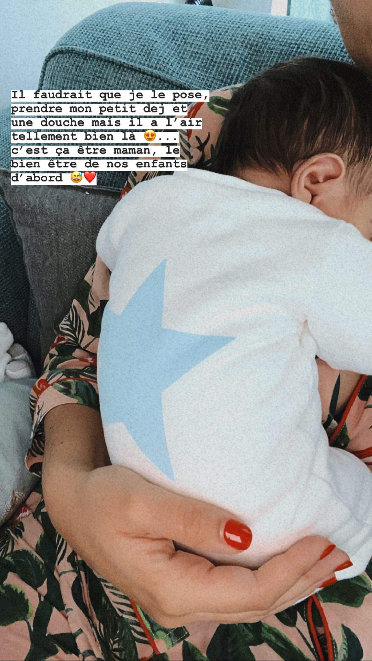 Rachel Legrain-Trapani dévoile son corps post-partum : Son message bienveillant aux mamans