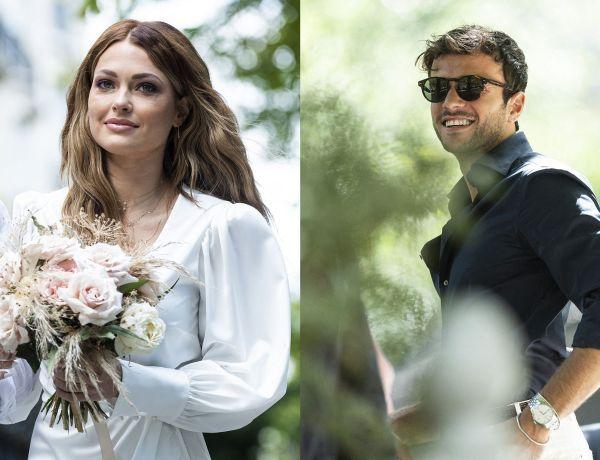 Caroline Receveur dévoile des photos inédites de son mariage secret avec Hugo Philip
