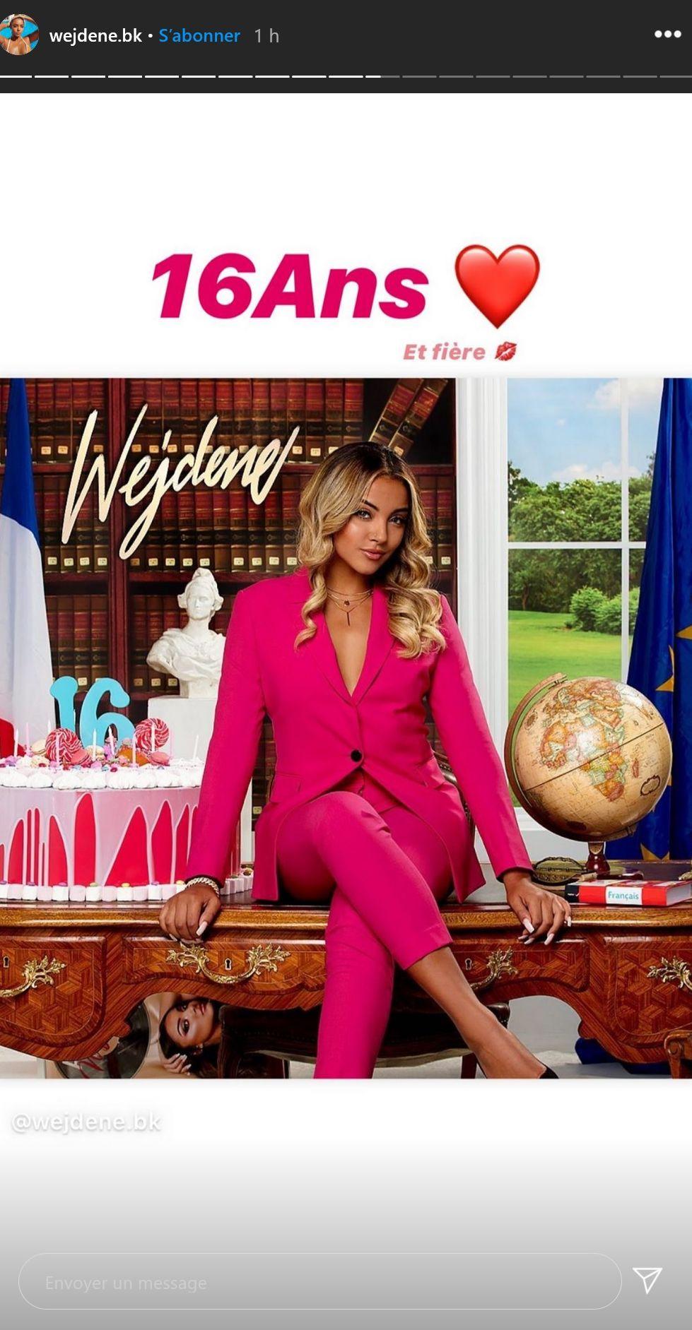 Wejdene imite Emmanuel Macron... pour la promo de son album !
