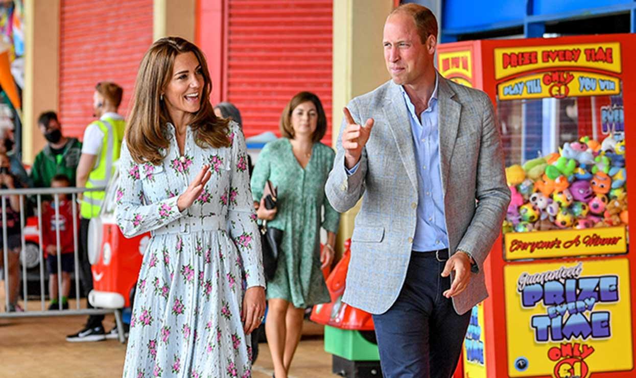 Kate Middleton et le prince William en visite officielle @BestImage