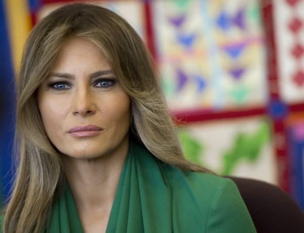 Melania Trump au cœur d'une polémique insolite