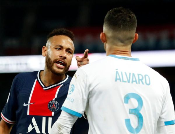 PSG-OM : Neymar victime de racisme sur le stade de foot ? Il accuse Alvaro Gonzalez de l'avoir insulté !