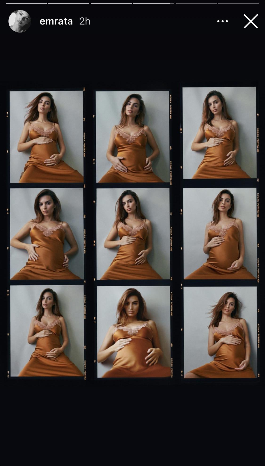 Emily Ratajkowski : enceinte pour la première fois !