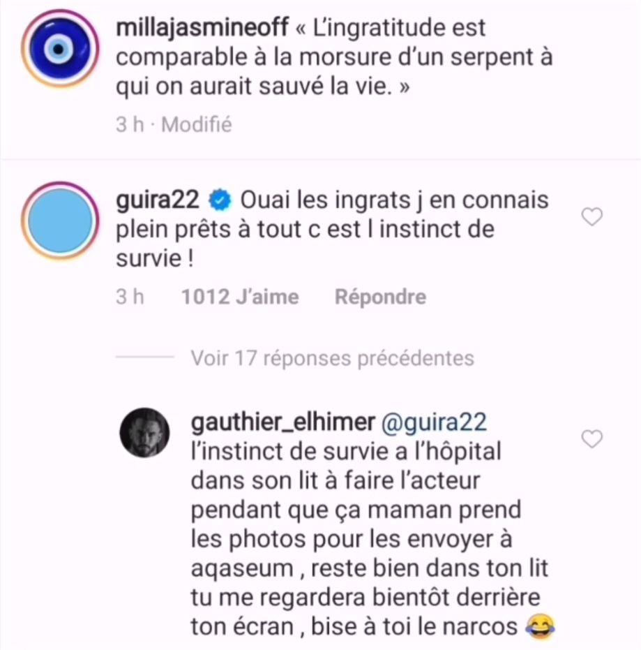 Julien Guirado évoque les