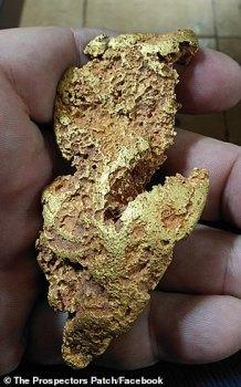 Une pépite d'or valant près de 30 000 dollars découverte en Australie