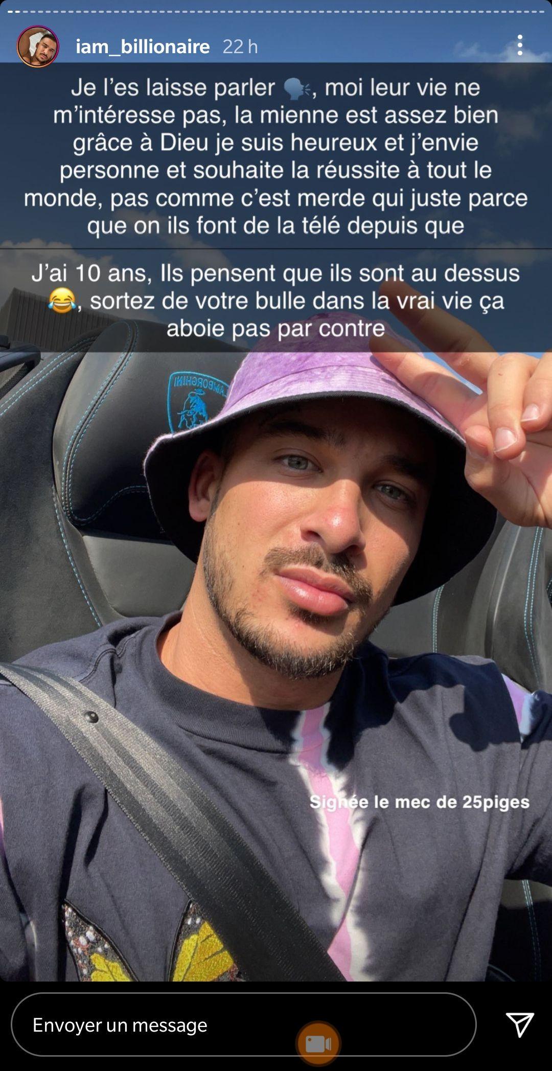 """Julien Tanti tacle la JLC Family et reçoit une réponse cinglante de Laurent Correia : """"Viens on se voit en vrai !"""""""