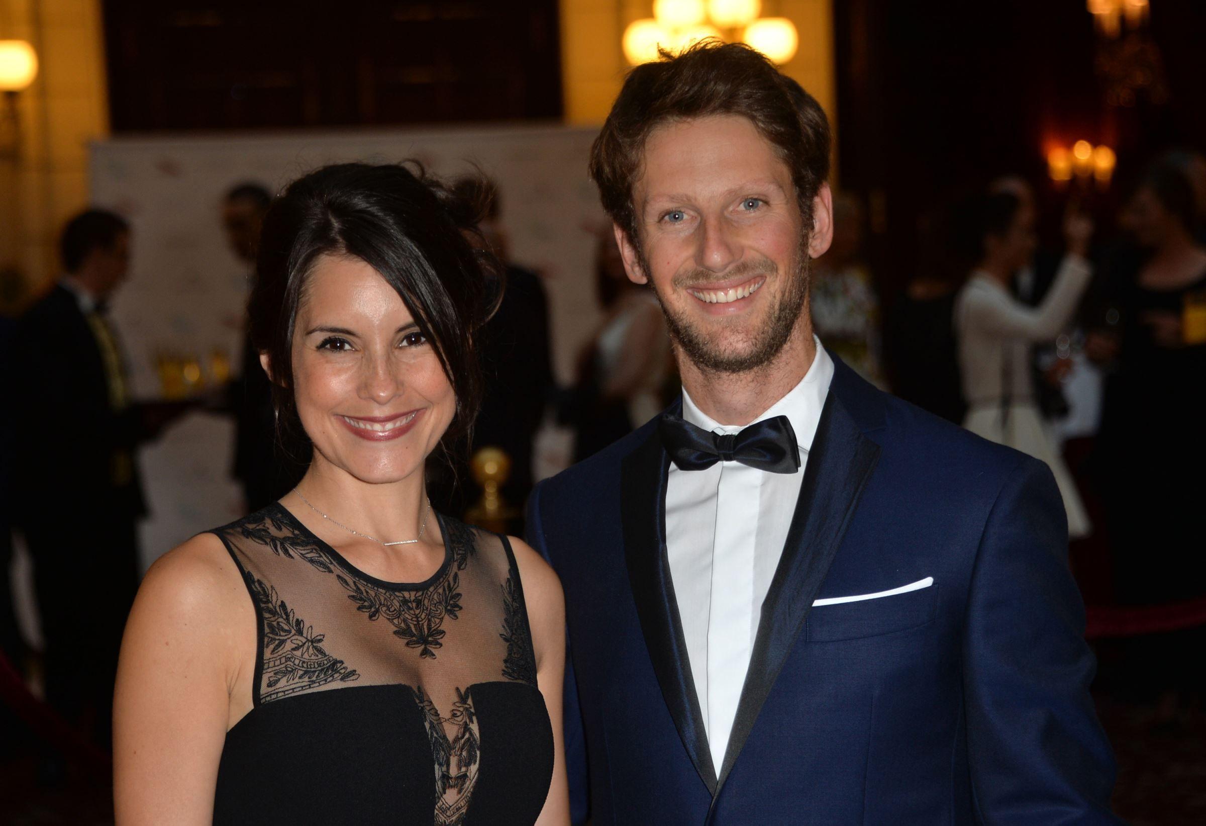 Romain Grosjean et Marion Jollès @DR