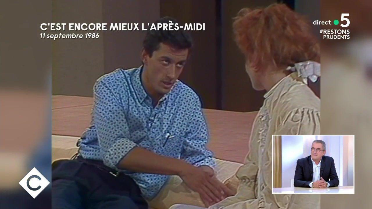 """Christophe Dechavanne dragué par Mylène Farmer à la télévision : """"Je perds mes moyens"""""""