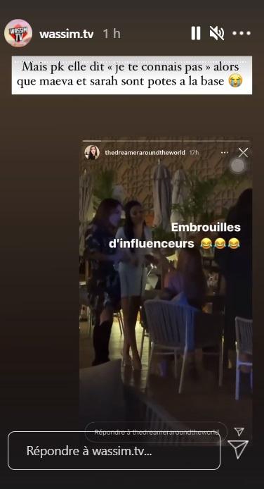 Manon Marsault et Maeva Ghennam vs Sarah Lopez : gros clash à Dubaï !