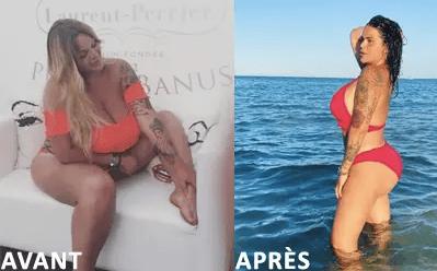 Sarah Fraisou : plus mince que jamais, elle ose la mini-jupe