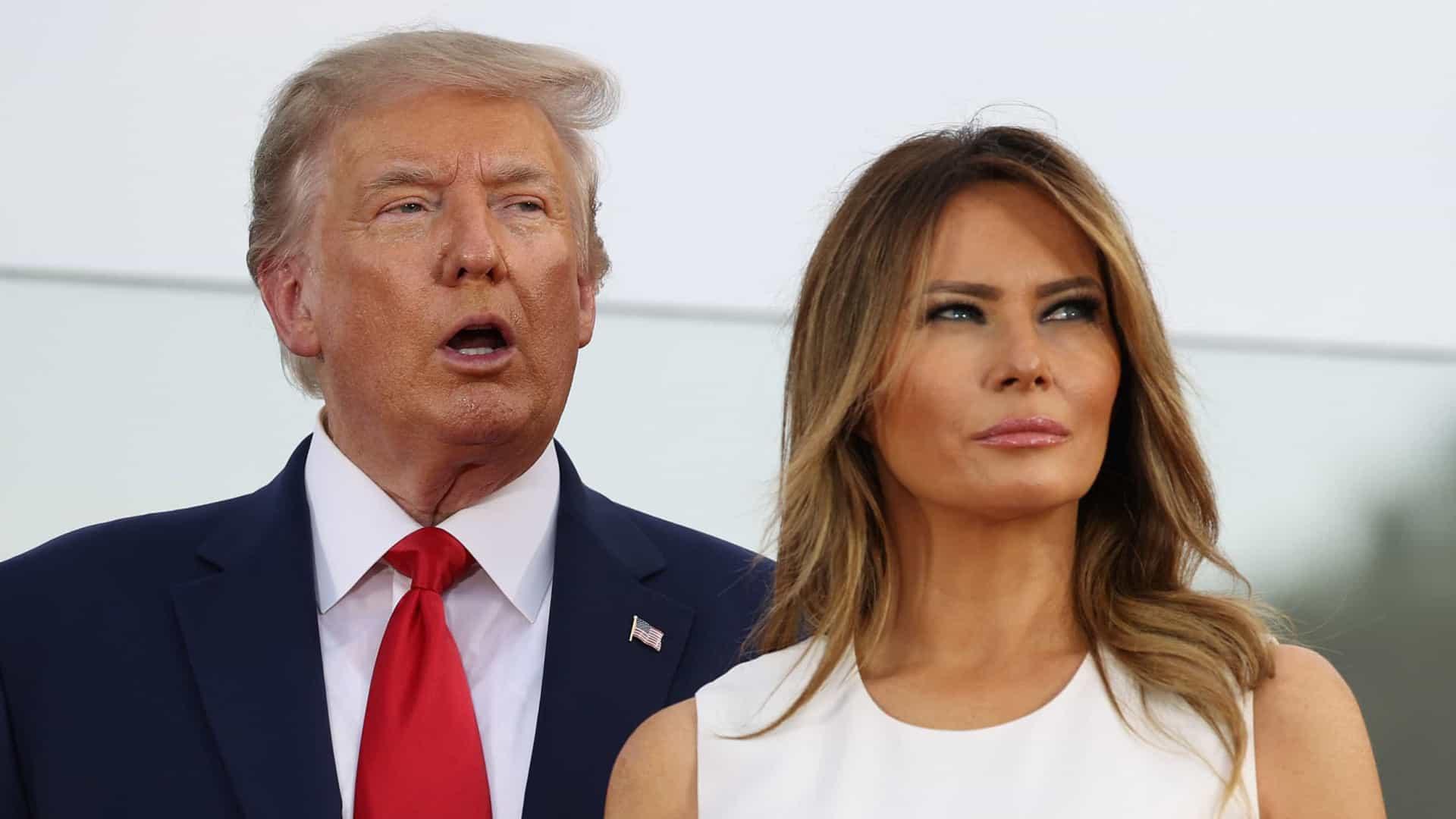 Donald et Melania Trump @Getty Images