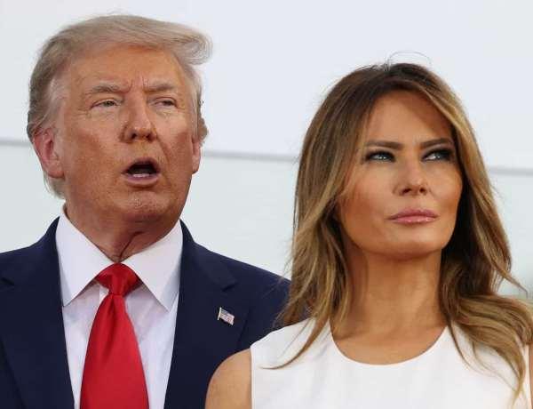 Donald Trump privé de Twitter : Melania Trump s'en réjouit !