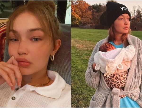 Gigi Hadid a mis au monde sa fille chez elle : Elle revient sur son accouchement douloureux