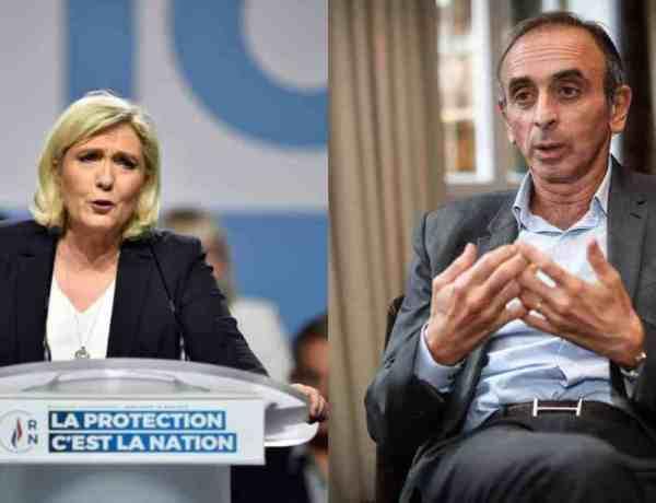 Marine Le Pen tacle Eric Zemmour sur ses ambitions présidentielles