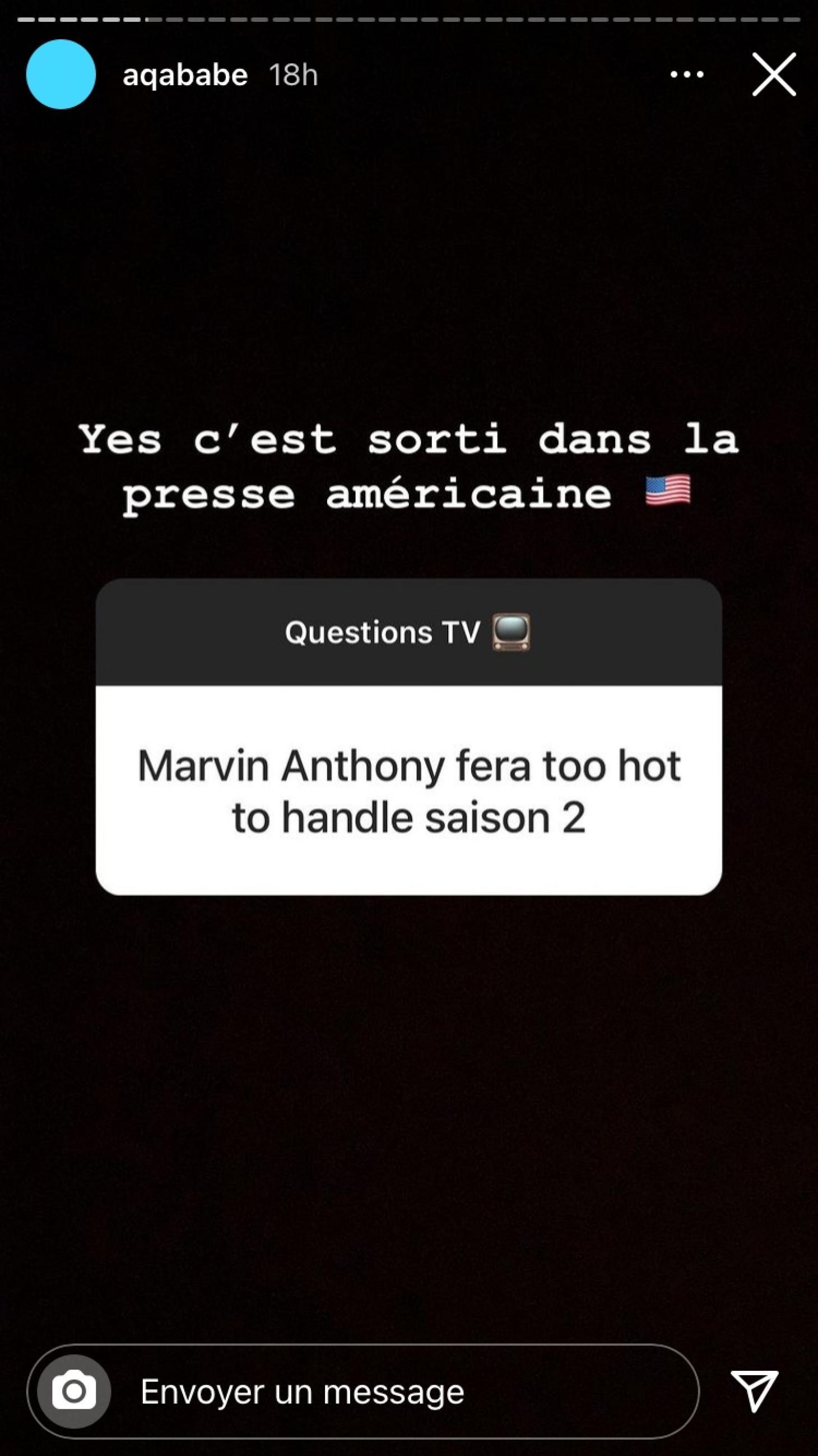 Marvin Anthony (LPDLA8) : bientôt de retour dans une télé-réalité américaine très connue ?